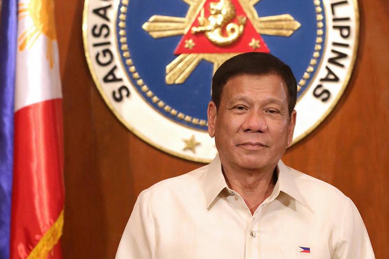 菲律宾总统杜特尔特向2019世界物联网大会发来贺信
